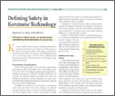 Defining Safety in Keratome Technology