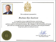 View letter from the Rt. Hon. Stephen Harper, P.C., M.P. Prime Minister of Canada